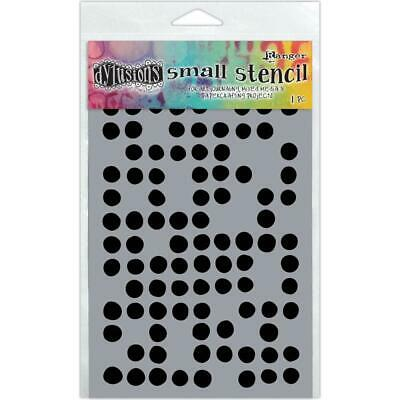 Dylusions Stencil - Small 5x8 - Fresh Dots