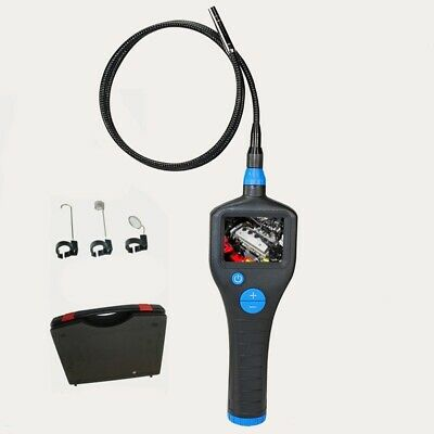 8,2 mm Waterproof  Borescope Endoscope Flexible Inspection Camera with Monitor 2