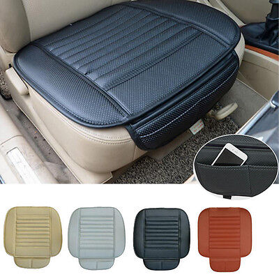Universal PU leather Car Seat Slip Mat Front Seat Cushion Liner Protector Cover