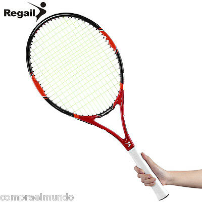 New REGAIL Thread Material Tennis Competitive Training Racket for Outdoor