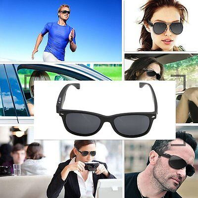 Wireless Bluetooth V4.1+EDR Driving Sunglasses Smart Glasses Eyewear For  iPhone