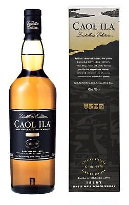 Caol Ila Distillers Edition Single Malt Scotch Whisky 700ml