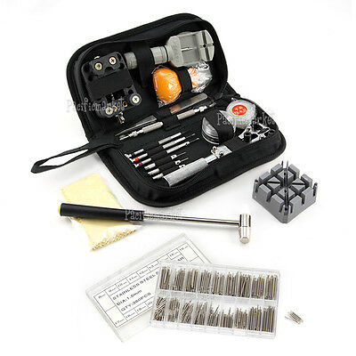 380× Horologe Watchmaker Watch Link Pin Remover Case Opener Repair Tool Kit Set