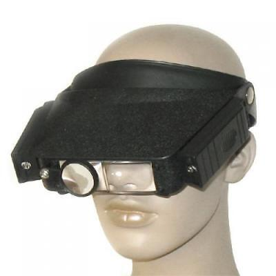 Practical Head Magnifier Hands Free with Lights & Loupe