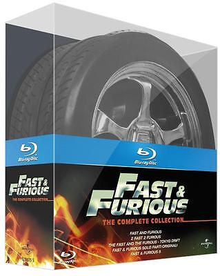 Fast & Furious: The Complete Collection (Exclusive 'Wheel' Ltd Blu-ray Boxset)