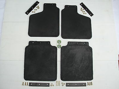 Land Rover Discovery 1 Front & Rear Mud Flap Set - 1989 To 1998 - New Mudflaps