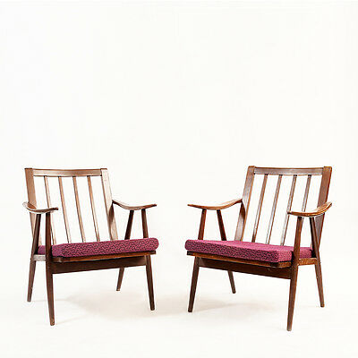 Pair of Vintage 1950's Lounge Chairs