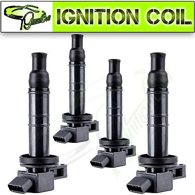 4 Unit New Ignition Coil for Toyota Camry Scion Lexus 2.0L 2.4L 4Cylinder UF333