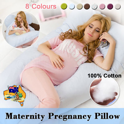 New Maternity Pregnancy Pillow Sleeping Nursing Body Support Feeding Boyfriend