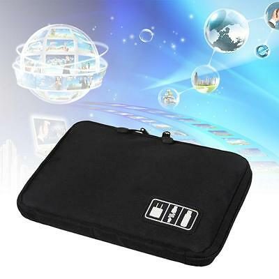 Portable Electronic Accessories Waterproof Organizer Bag For phone Cable USB DA