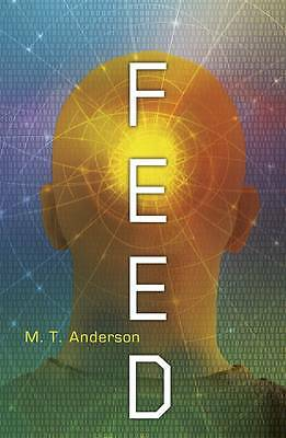 Feed by BRAND NEW BOOK Matthew Tobin Anderson (Paperback, 2012)