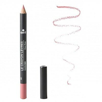 crayon contour des lèvres avril BIO VIEUX ROSE make up waterproof made in france