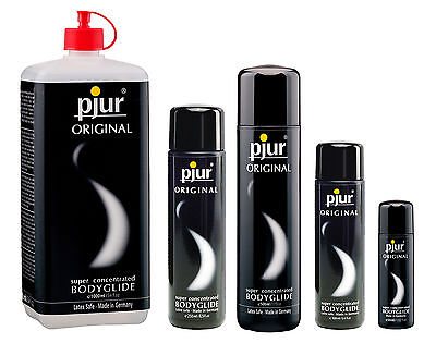 Pjur Original Silicone based Lubricant Bodyglide Super Concentrated Lube