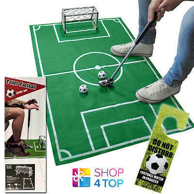 Exclusive Mini Toilet Football Game Soccer Funny Potty Crazy Bathroom Original