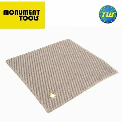 Monument 300mm Soldering Mat and Heat Resistant Plumbers Brazing Pad 12in 2350X
