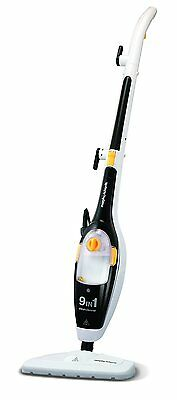 Morphy Richards 720021 9-in-1 Steam Cleaner  Black/White - NEW - 2yrs Guarantee
