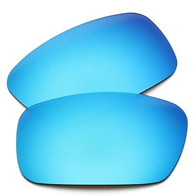RawD Sky Blue Mirrored Replacement Lenses for-Oakley Crankshaft POLARIZED