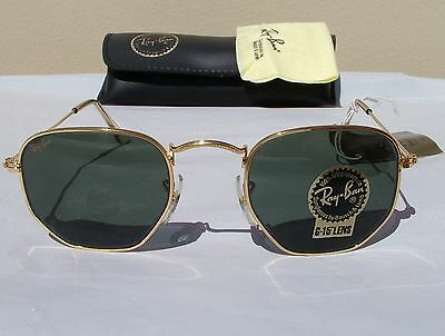 d8751455f0ee6 New Vintage B L Ray Ban Classic Collection III 3 Gold G-15 W0980 Aviator USA