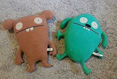 Ugly Doll Flatter and Chuckanucka Plush Toy 11""