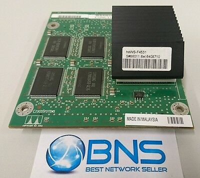 ★★★★ Cisco WS-F4531 Catalyst 4500 NetFlow Services Card (Sup IV/V)