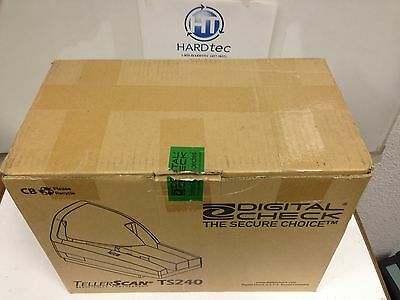 Digital Check TS240 150dpm TellerScan240 Check scanner in the box