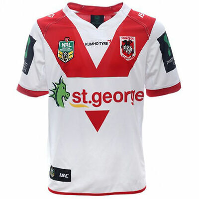 St George Dragons NRL Home Jersey Adults, Ladies & Kids Available BNWT6