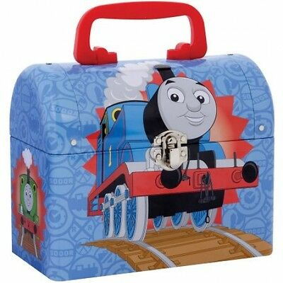 Schylling Thomas The Tank Engine Domed Keepsake Open Storage Space Kid Lunch Box