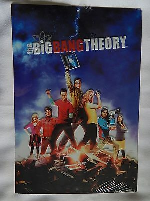 The Big Bang Theory (NEW) Embossed Metal (Tin) Sign (Wall Décor), 13 in x 8.8 in