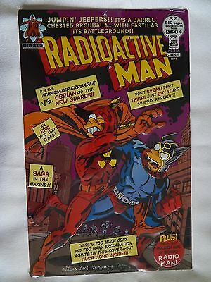 The Simpsons (NEW) Radioactive Man Comic Book Embossed Metal Sign, 13 in x 8 in