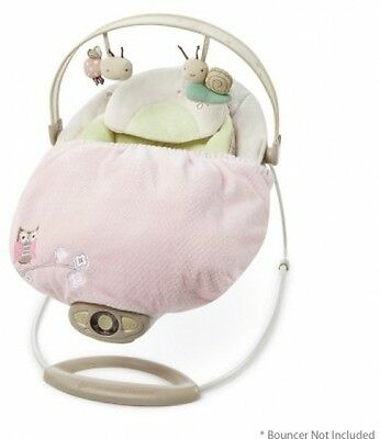 Comfort & Harmony Baby Infant Newborn Snuggle Stay Swing & Bouncer Blanket Pink