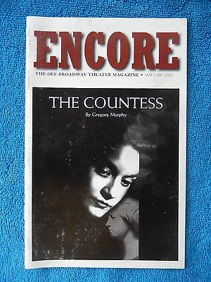 The Countess - Theatre Four Playbill - March/April 2000 - Jennifer Woodward
