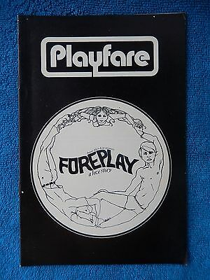 Foreplay - Bijou Theatre Playbill - November 1970 - Robert Judelin - Tara Tyson