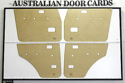 Toyota 60 Series Land Cruiser Masonite Door Cards. Suit Window Winder Models