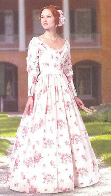 Victorian Dress PATTERN Butterick 5832 Historical Southern Belle Gown Sz 6 - 22