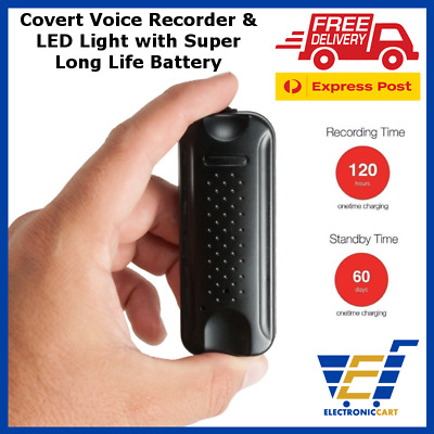 Digital Voice Recorder Listening Device Audio Activated Anti Theft No Spy Hidden