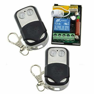 AC 220V 1000W Relay Three Modes Wireless Remote Control 2 Transmitter 1 Channel