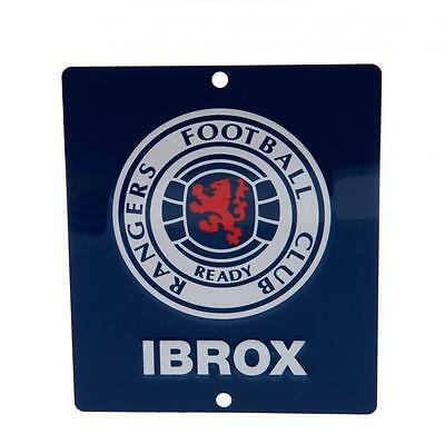 Glasgow Rangers FC Car Window Sign / Wall Sign - Official Merchandise