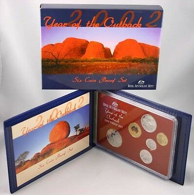 Royal Australian Mint 2002 six coin Proof Set -Year of the Outback