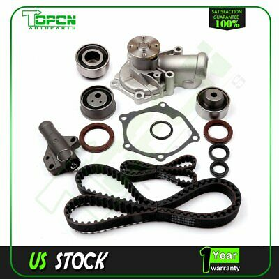 Timing Belt Water Pump Kit fits 04-09 Mitsubishi Eclipse Galant 2.4L SOHC 4G69