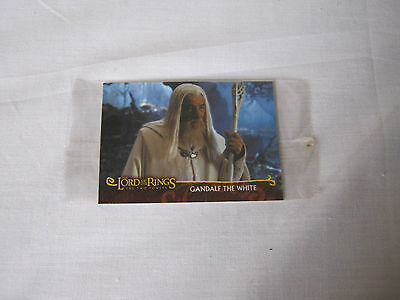 Lord of the Rings Two Towers Topps card Collectable Gandalf the white sealed