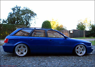 1 18 tuning audi 80 rs2 avant quattro rs blau rs porsche. Black Bedroom Furniture Sets. Home Design Ideas
