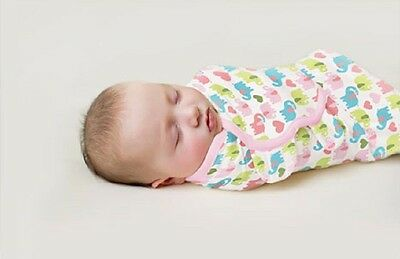 Summer Swaddle Me Cotton Easy Wrap Swaddle Size From Newborn To Four Months Old