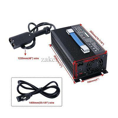 New 36V 18A Golf Car Cart Battery Automatic Charger Adapter Floating Charge Mode