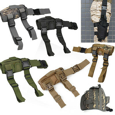 Military Drop Leg Bag Adjustable Hunting Tactical Pouch For Pistol Gun Holster