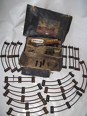 Vintage Hornby Train Set in Box - O Gauge for Restoration