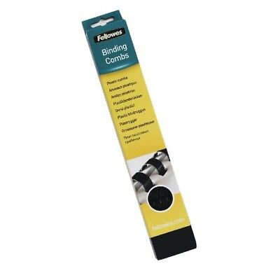 Fellowes Binding Comb 32mm Black A4 Pack of 50 53493