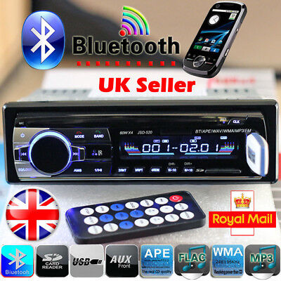 Car Radio Bluetooth Stereo Head Unit MP3/USB/SD/AUX-IN/FM In-dash Player 1DIN UK