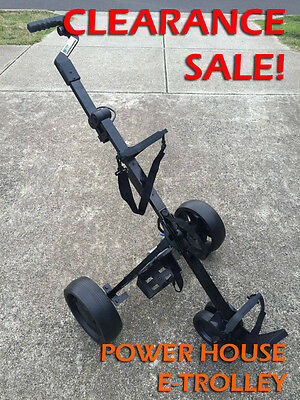 NEW Power House Electric Motorised Golf E-Trolley Buggy Caddy STOCK CLEARANCE