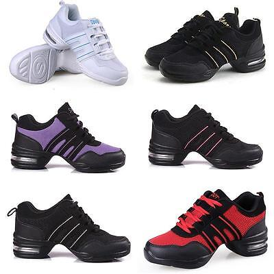Women Athletic Sneakers Comfy Modern Jazz Hip Hop Dance Shoes Running Sportwear
