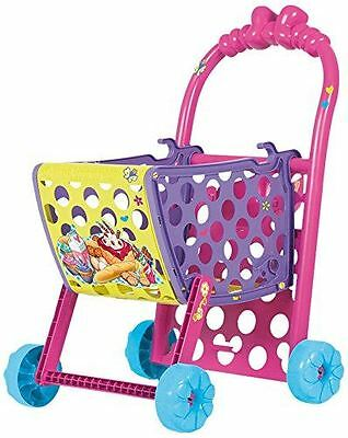 New Disney Minnie Mouse Shopping Trolley With Accessories Toy Playset 3+